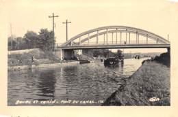 BOURG ET COMIN - Pont Du Canal - Très Bon état - Other Municipalities
