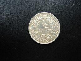 ALLEMAGNE * :  1/2 MARK   1914 D     KM 17     SUP /  SUP+ - [ 2] 1871-1918: Deutsches Kaiserreich