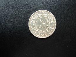 ALLEMAGNE * :  1/2 MARK   1914 J     KM 17     SUP - [ 2] 1871-1918: Deutsches Kaiserreich