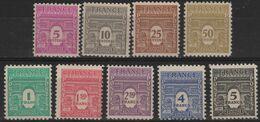 FR 1706 - FRANCE N° 620/28 Neuf** Arc De Triomphe - Unused Stamps