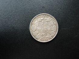 ALLEMAGNE * :  1/2 MARK   1916 E    KM 17     SUP - [ 2] 1871-1918: Deutsches Kaiserreich