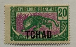 1922 Tchad Y Et T 3* - Unused Stamps