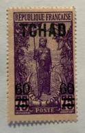 1922 Tchad Y Et T 14* - Unused Stamps