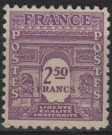 FR 1708 - FRANCE N° 626 Neuf** Arc De Triomphe - Unused Stamps