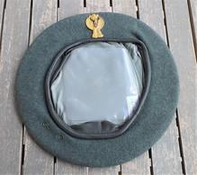 Basco Grigioverde P.S. Celere Anni '60 Originale Taglia 56 Mai Indossato - Headpieces, Headdresses