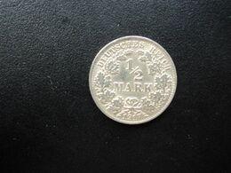 ALLEMAGNE * :  1/2 MARK   1917 A    KM 17     SPL ** - [ 2] 1871-1918: Deutsches Kaiserreich