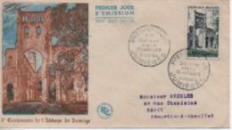 195 34      ABBAYE DE JUMIEGES   N° YVRT ET TELLIER 985 - 1950-1959
