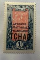 1924 Tchad Y Et T 36* - Unused Stamps