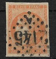 France N°48 Cote 160€ (Pelurage) - 1870 Emisión De Bordeaux