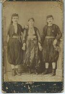 "Old Photo ,,P.Marubbi"" Albania - Costume Di Scutari / Shkodra - Man And Woman Folklore Costume - Photography"