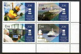 Irlande ( Eire ) 2187/90 Phares, Hélicoptère, Balise, Bateau - Phares