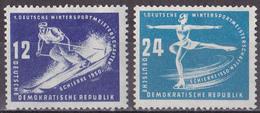 Kü_ DDR 1950 - Mi.Nr. 246 - 247 - Postfrisch MNH - Nuovi
