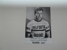 VIESLY: Coureur Edouard Delberghe (geen Kaart  - FOTO !!!) - Cycling