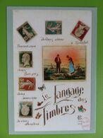 PAP - Carte Postale Pré-timbrée - Timbre International - Langage Des Timbres - 2020 - NOUVEAU - Documentos Del Correo