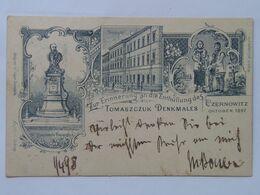 Ukraine 496 Chernivtsi Czernowitz 1898 Tomaszczuk Denkmales University Univerzita Monumnet Pamatnik - Ukraine