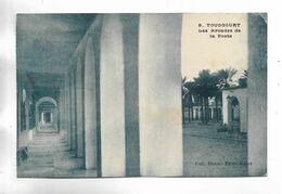 ALGERIE - TOUGGOURT -  Les Arcades De La Poste.  Carte Bleutée - Algerien