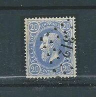 N° 31 OBLITERE LP 312 ROCHEFORT - 1869-1883 Léopold II