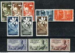 Guinea Española ** 306/316 Nuevo Sin Charnela. Cat.30€ - Guinea Española