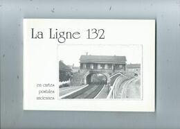 Chemin De Fer La Ligne 132 En Cartes Postales ( Richement Illustré ) Couvin  Charleroi Vireux Etc. - Railway & Tramway