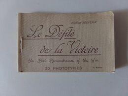 """Album-souvenir, 25 Vues  """" Le Défilé De La Victoire """" - War 1914-18"""