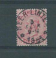 N° 38 OBLITERE NEER-LINTER  RELAI - 1883 Léopold II