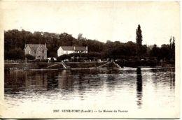 N°3955 R  -cpa ,Seine Port -la Maison De Passeur- - Other Municipalities