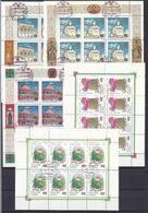 Russland - 1993/94 - Kleinbogen - Sammlung Nr. 3 - Gestempelt - 1992-.... Federation