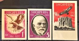 ALBANIA 1962 - MNH - Mi 712-714 - Anniversayry Of Independence - Albania