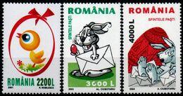 Romania 2011 2003 2004, Scott 4441, 4578, 4620, MNH, Easter - Unused Stamps
