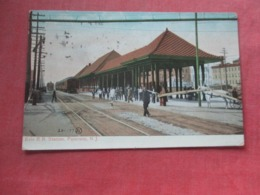Erie R R Station - New Jersey > Paterson    Ref 4355 - Paterson