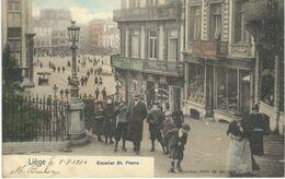 LIEGE : Escalier St. Pierre - Nels Série 34 N° 109 - Cachet De La Poste 1904 - Liege