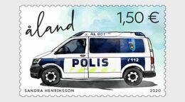 Aland - Postfris / MNH - Politie 2020 - Ålandinseln