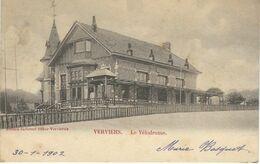 VERVIERS : Le Vélodrome - Cachet De La Poste 1902 - Verviers