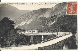 PONT DE LA LIGNE DU TRAM DE LA VESUBIE - Saint-Martin-Vésubie