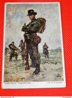 MILITARIA - ARMEE BELGE -  Carabinier ( Illustrateur Wagemans ) - Uniformi