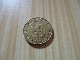 Afrique De L'Ouest - 10 Francs 1978.N°525. - Altri – Africa