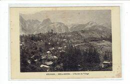 CPA ILE DE LA REUNION - HELL BOURG - L'ENTREE DU VILLAGE - PETIT DEFAUT - Réunion