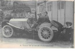 SPORT. N°54358.Farman Sur Sa 120ch Panhard-Levassor Automobile.course.voiture.coupe Goudon Benneht Auvergne - Sonstige