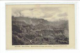CPA ILE DE LA REUNION - HELL BOURG - MASSIF DU PITON DES NEIGES 3069 METRES - VUE PRISE DU POINT DU JOUR - Réunion