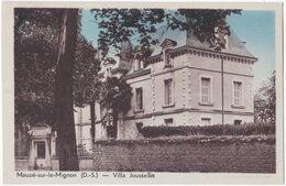 79. MAUZE-SUR-LE-MIGNON. Villa Jousselin - Mauze Sur Le Mignon