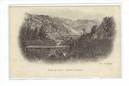 CPA ILE DE LA REUNION - ROUTE DE SALAZIE - PONT DE LA SAVANNE - PETIT DEFAUT - Réunion