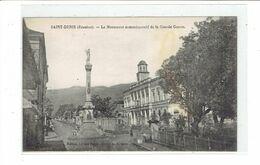 CPA ILE DE LA REUNION - SAINT DENIS - LE MONUMENT COMMEMORATIF DE LA GRANDE GUERRE - Réunion