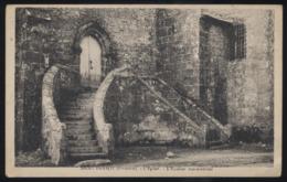 CPA - (29) Saint Herbot - L'Eglise - L'escalier Monumental - Saint-Herbot