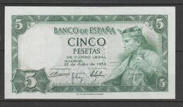 ESPAÑA BILLETE DE 5 Pts. PANCHA (C.B.) - [ 3] 1936-1975 : Regime Di Franco