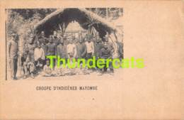 CPA CONGO GROUPE D'INDIGENES MAYOMBE - Belgian Congo - Other