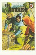 Postcard - Ladybird Book Cover For - Robin Hood Adventure - The Ambush - 1955 Series 549 -  New - Books
