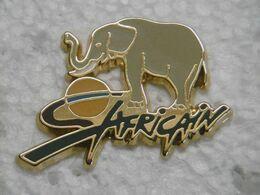 Pin's - Animaux - ÉLÉPHANT Safari Africain Zoo Afrique - EGF - Animaux