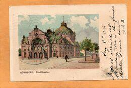 Nurnberg Nuremberg Germany 1907 Postcard - Nuernberg