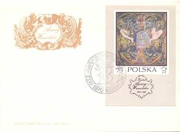 ARRASY WAWELSKIE KRAKOW  POLAND 1970 FDC   COVER   SPECIAL POSTMARK  (SETT200169) - FDC