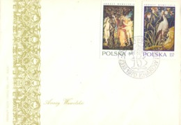 ARRASY WAWELSKIE KRAKOW  POLAND 1970 FDC   COVER   SPECIAL POSTMARK  (SETT200170) - FDC